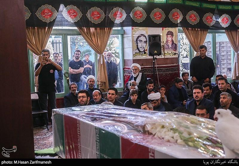 تشییع پیکر شهید حسین علیقلی نژاد